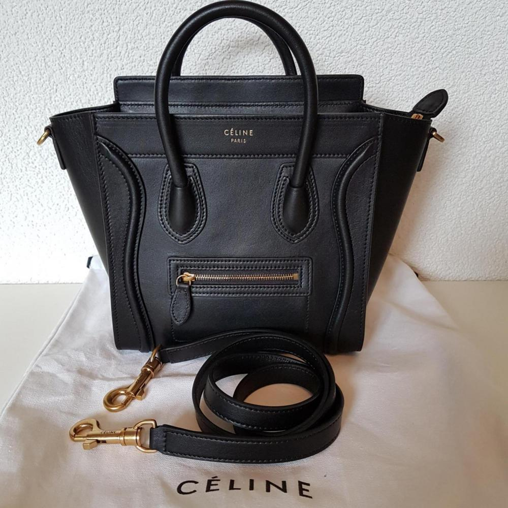 a15ced21991a Celine Nano Luggage Smooth Leather.