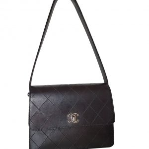 d142bc0f3b9d25 CHANEL 9 inch limited edition Blizzard Flap Bag | I Love Brand Names