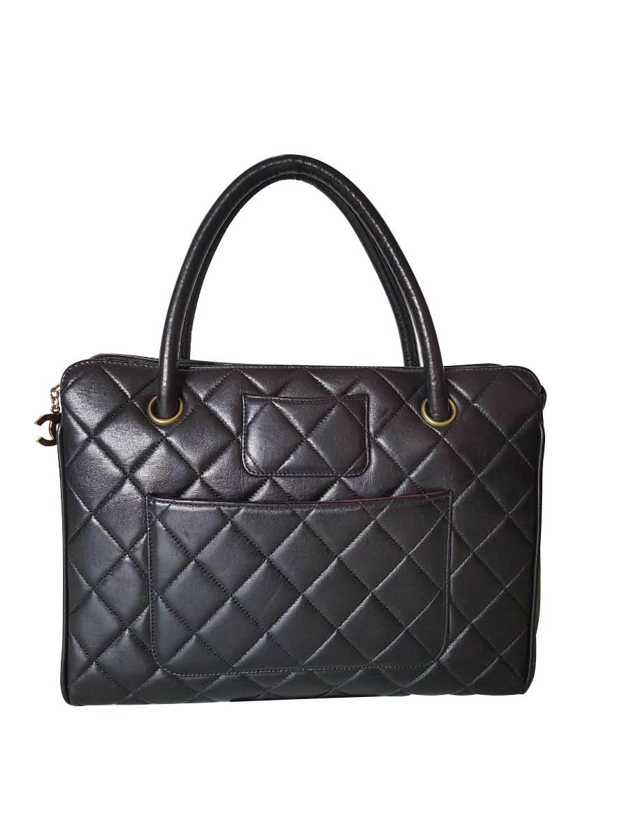 08b14633ab Chanel Leather Handbag